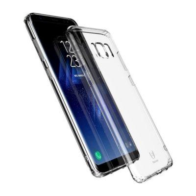 Samsung Galaxy S8 Suojakuori Baseus Läpinäkyvä