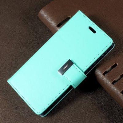 Samsung Galaxy S8 Turkoosi Rich Diary Lompakkokotelo
