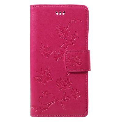 Sony Xperia XZ1 Compact Suojakotelo Kukka Pinkki