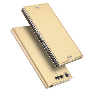 Sony Xperia XZ1 Kotelo Dux Ducis Kulta