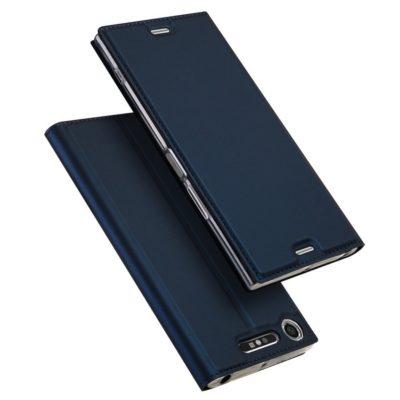 Sony Xperia XZ1 Kotelo Dux Ducis Tummansininen