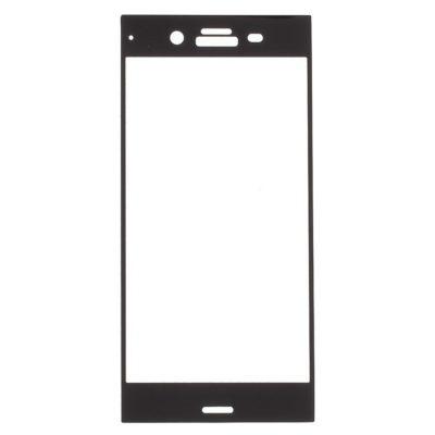 Sony Xperia XZ1 Täysin Peittävä Suojalasi Musta