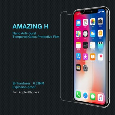 Apple iPhone X / Xs Panssarilasi Nillkin Amazing H