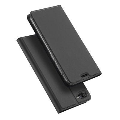 Asus Zenfone 4 Max 5.2″ ZC520KL Kotelo Tummanharmaa