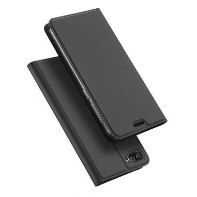 "Asus Zenfone 4 Max 5.2"" ZC520KL Kotelo Tummanharmaa"