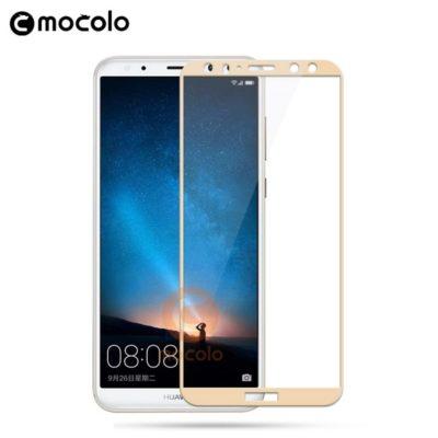 Huawei Mate 10 Lite Täysin Peittävä Suojalasi Kulta