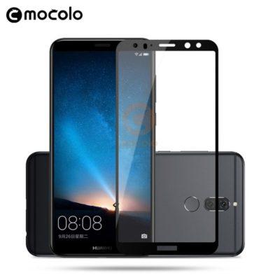 Huawei Mate 10 Lite Täysin Peittävä Suojalasi Musta