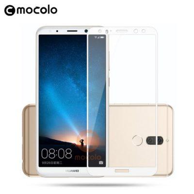 Huawei Mate 10 Lite Täysin Peittävä Suojalasi Valkoinen