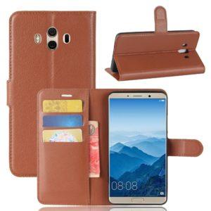 Huawei Mate 10 Lompakkokotelo Ruskea