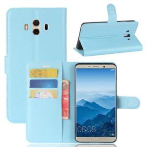 Huawei Mate 10 Lompakkokotelo Vaaleansininen