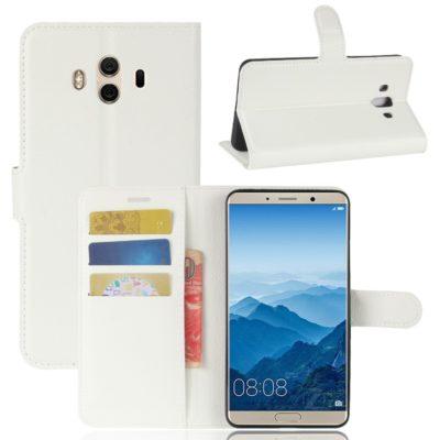 Huawei Mate 10 Lompakkokotelo Valkoinen