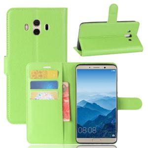 Huawei Mate 10 Lompakkokotelo Vihreä