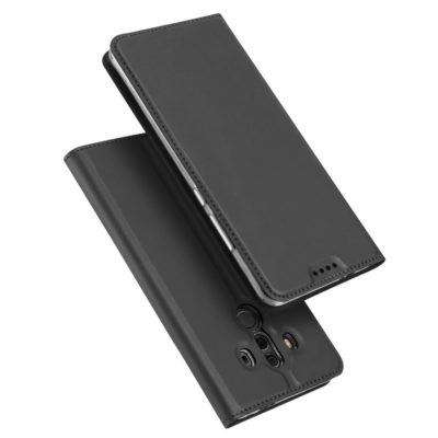 Huawei Mate 10 Pro Kotelo Dux Ducis Tummanharmaa