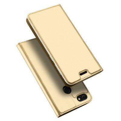 Huawei P9 Lite Mini Kotelo Dux Ducis Kulta