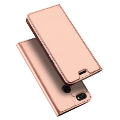 Huawei P9 Lite Mini Kotelo Dux Ducis Ruusukulta