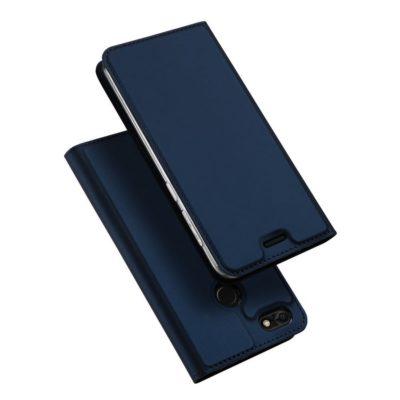 Huawei P9 Lite Mini Kotelo Dux Ducis Tummansininen