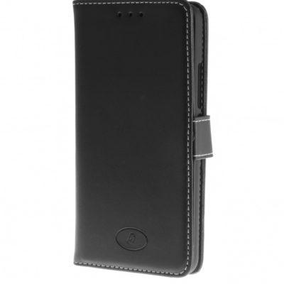 Motorola Moto E 4th Gen Nahkakotelo Insmat Musta