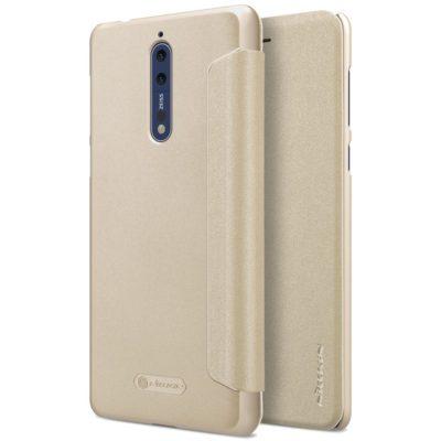 Nokia 8 Suojakotelo Nillkin Sparkle Kulta