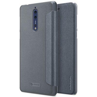 Nokia 8 Suojakotelo Nillkin Sparkle Musta