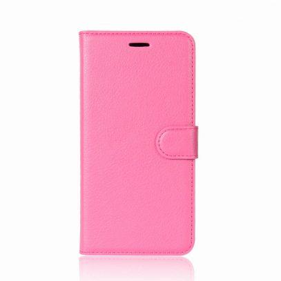 OnePlus 5T Suojakotelo Pinkki Lompakko
