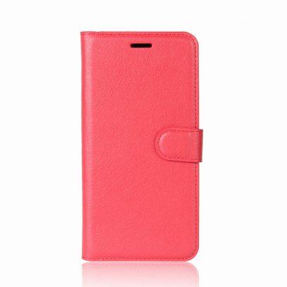 OnePlus 5T Suojakotelo Punainen Lompakko