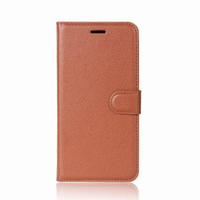 OnePlus 5T Suojakotelo Ruskea Lompakko