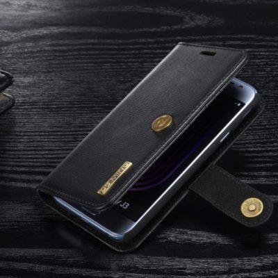 Samsung Galaxy J3 (2017) Kotelo DG.MING Musta