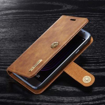 Samsung Galaxy J3 (2017) Kotelo DG.MING Ruskea