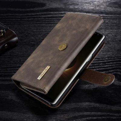 Samsung Galaxy Note 8 Nahkakotelo DG.MING Kahvi