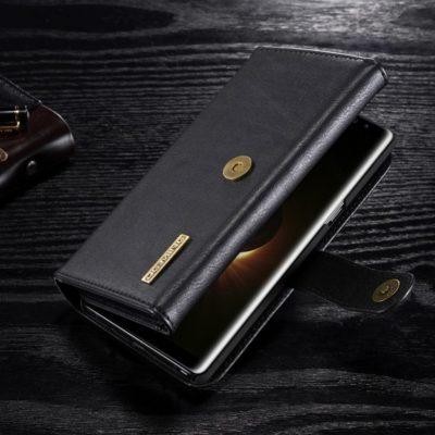 Samsung Galaxy Note 8 Nahkakotelo DG.MING Musta