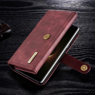 Samsung Galaxy Note 8 Nahkakotelo DG.MING Punainen
