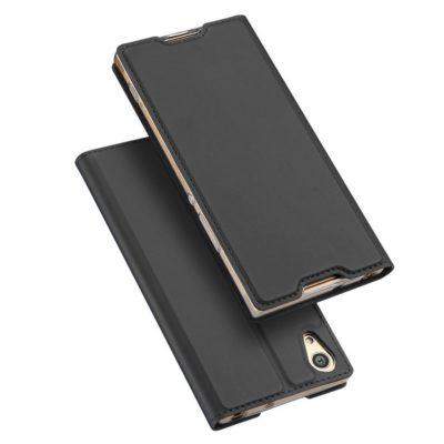 Sony Xperia XA1 Ultra Kotelo Dux Ducis Tummanharmaa