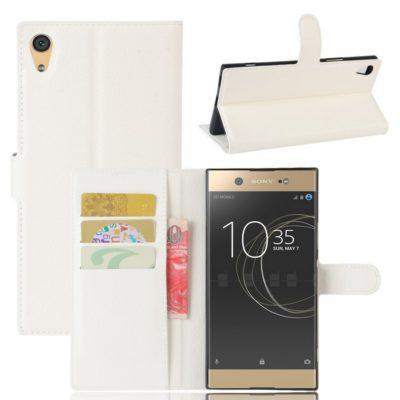Sony Xperia XA1 Ultra Lompakkokotelo Valkoinen