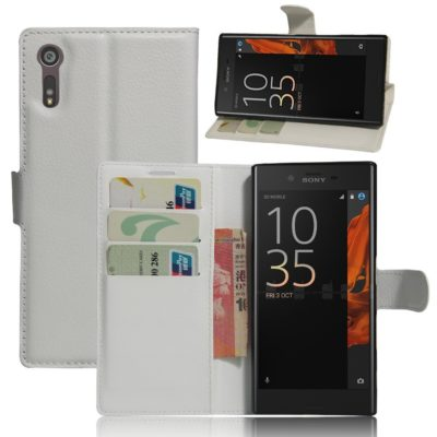 Sony Xperia XZ Lompakkokotelo Valkoinen