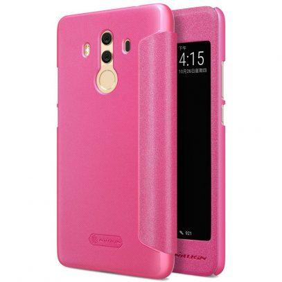 Huawei Mate 10 Pro Kotelo Nillkin Sparkle Pinkki