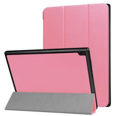 Lenovo Tab 4 10 10.1″ Suojakotelo Vaaleanpunainen