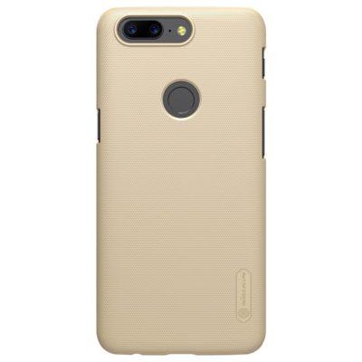 OnePlus 5T Suojakuori Nillkin Super Frosted Kulta