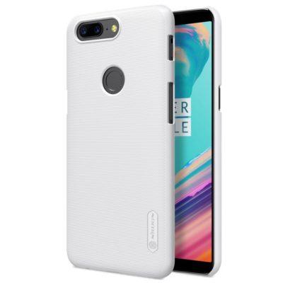 OnePlus 5T Suojakuori Nillkin Super Frosted Valkoinen