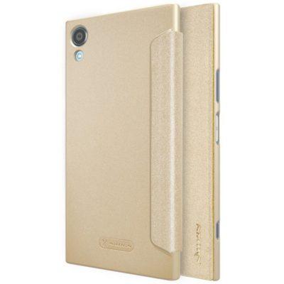 Sony Xperia XA1 Plus Kotelo Nillkin Sparkle Kulta