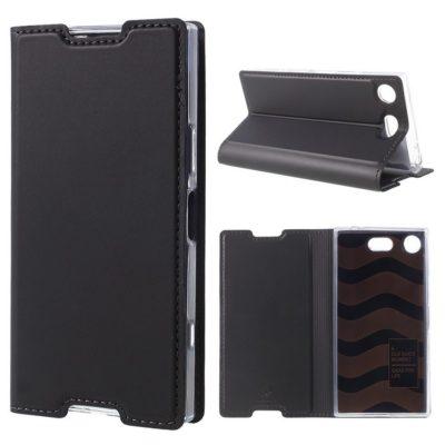 Sony Xperia XZ1 Compact Kotelo Dux Ducis Tummanharmaa