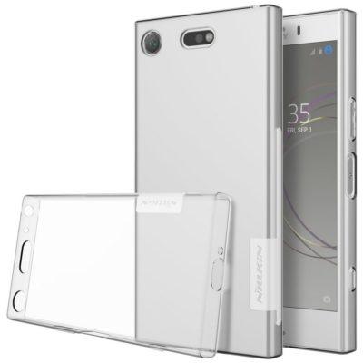 Sony Xperia XZ1 Compact Kuori Nillkin Läpinäkyvä