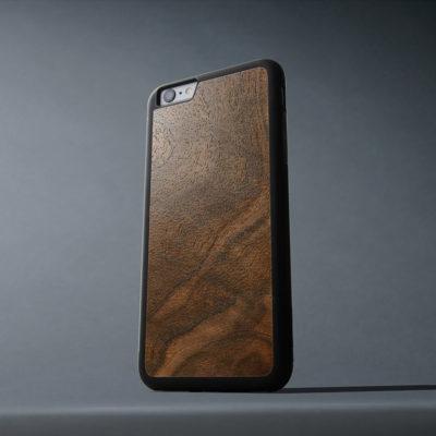 Apple iPhone 6 / 6s Plus Suojakuori Carved Pähkinä Pahka