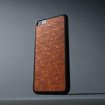 Apple iPhone 6 / 6s Plus Suojakuori Carved Punapuu Pahka
