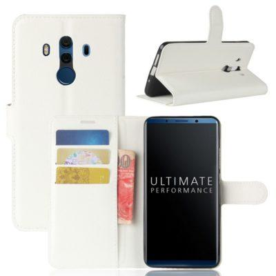 Huawei Mate 10 Pro Lompakkokotelo Valkoinen