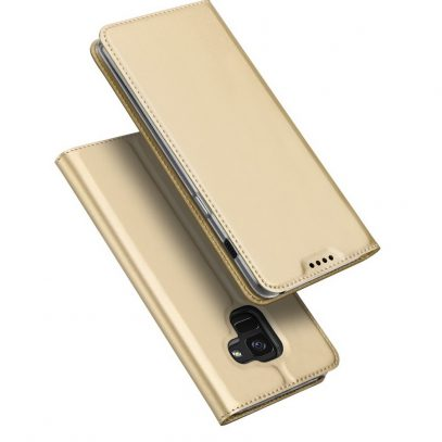 Samsung Galaxy A8 (2018) Kotelo Dux Ducis Kulta