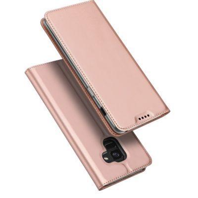 Samsung Galaxy A8 (2018) Kotelo Dux Ducis Ruusukulta