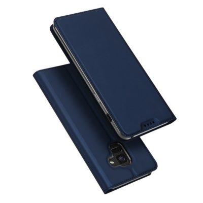 Samsung Galaxy A8 (2018) Kotelo Dux Ducis Sininen