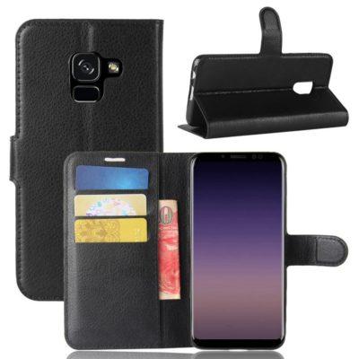 Samsung Galaxy A8 (2018) Suojakotelo Musta