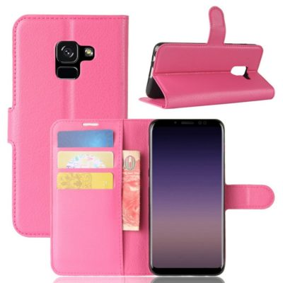 Samsung Galaxy A8 (2018) Suojakotelo Pinkki
