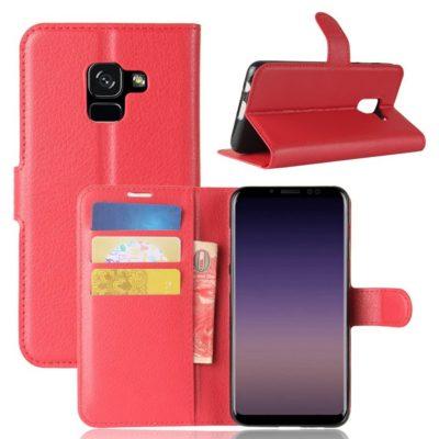 Samsung Galaxy A8 (2018) Suojakotelo Punainen